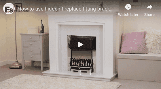 Visit our help video on how to fit a fireplace surround